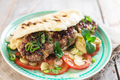 Fresh tasty homemade  burger - PhotoDune Item for Sale