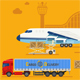 Air Cargo Delivery and Logistics - GraphicRiver Item for Sale