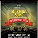 Alternative Sound Flyer / Poster - GraphicRiver Item for Sale