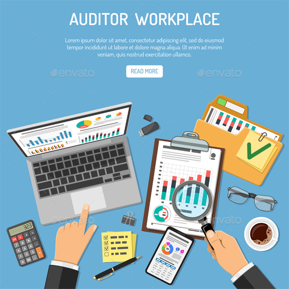 Auditor Workplace Concept - Concepts Business