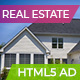 Real Estate | Premium Home Ad Banners - 7 Sizes