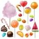 Candy Vector Sweet Food Dessert Lollipop