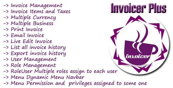 Invoicer Plus (Invoice Generator) Open Source Asp.net Mvc 5 Print | Email | Editable invoice - CodeCanyon Item for Sale