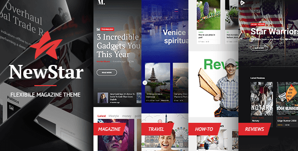 Newstar - Flexible Magazine WordPress Theme