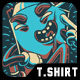 Hype Noodle T-Shirt Design - GraphicRiver Item for Sale