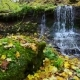 Rusyliv Waterfalls Cascade on a Small Stream - VideoHive Item for Sale