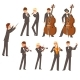 Musicians of Symphonic Orchestra and Conductor