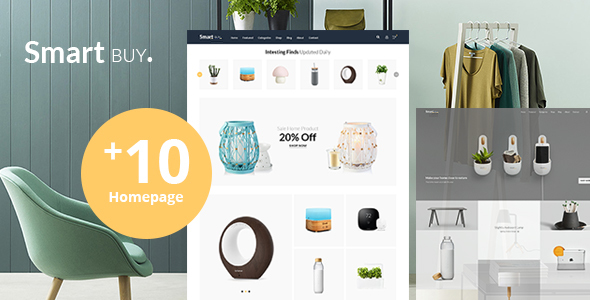 Image of Smartbuy - Shop WooCommerce WordPress  For Digital and Garden Home Theme