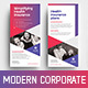 Modern Corporate DL Rack Card Template - GraphicRiver Item for Sale