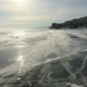 Winter Baikal. Elenka Island at Sunset - VideoHive Item for Sale