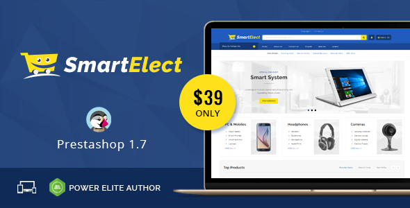 Image of SmartElect - Responsive Prestashop 1.7 Theme