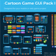 Cartoon Game GUi Pack I - GraphicRiver Item for Sale