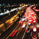 Highway Traffic Cars Driving Time Lapse at Multiple Lane Speedway - VideoHive Item for Sale