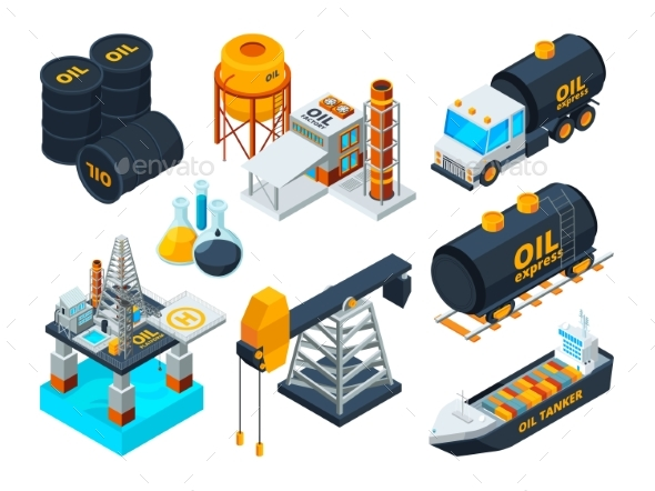 Oil and Gas Petroleum Refining - Industries Business
