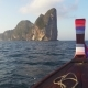 View on Phi Phi Leh Island From the Floating Boat - VideoHive Item for Sale