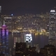 Hong Kong at Night From Victoria Peak, - VideoHive Item for Sale