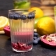 Water with Infused Blueberries, Pomegranate and Lemon - VideoHive Item for Sale