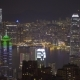 View of Hong Kong at Night from Victoria Peak - VideoHive Item for Sale
