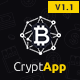 CryptApp Landing Page - Cryptocurrency Landing Page Theme