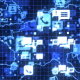 Network Communications World Map Background - VideoHive Item for Sale
