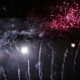 Colorful Fireworks at Holiday Night .Happy New Year - VideoHive Item for Sale