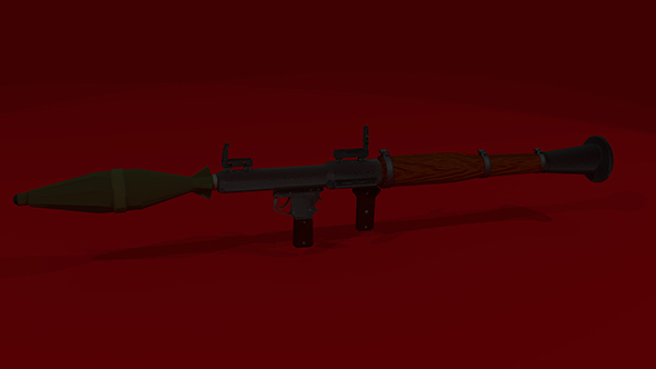 RPG - 7 - 3DOcean Item for Sale