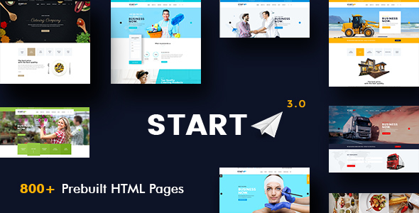 Start - Basic Business HTML5 & CSS3 Template - Business Corporate