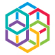 Colorful Hexagons Synergy Logo
