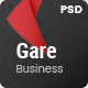 Gare PSD Template - ThemeForest Item for Sale
