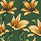 Orchid Flowers Seamless Pattern - GraphicRiver Item for Sale