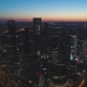 Skyscrapers of Moscow City Business Center and City Skyline in Morning Twilight. Aerial View - VideoHive Item for Sale