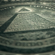4K 1 Dollar Bill Reverse Close Up Macro Detail 5 - VideoHive Item for Sale