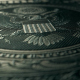 4K 1 Dollar Bill Reverse Close Up Macro Detail 6 - VideoHive Item for Sale