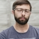 Portrait of a Thirty-five Year Old Man with a Beard Wearing Glasses - VideoHive Item for Sale