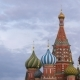 Saint Basil Cathedral and Clouds in Moscow, Russia - VideoHive Item for Sale