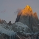 Mount Fitz Roy and in the National Park Los Glaciares National Park at Sunrise - VideoHive Item for Sale