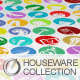 Colorful Houseware Collections - GraphicRiver Item for Sale