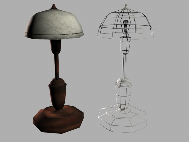 Indoor Lamp - 3DOcean Item for Sale