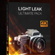 40 Light Leaks 4K - Ultimate Pack - VideoHive Item for Sale
