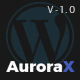AuroraX - Portfolio WordPress Theme - ThemeForest Item for Sale