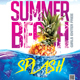 Summer Beach Splash Flyer - GraphicRiver Item for Sale