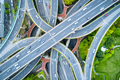 aerial view of city interchange in shanghai, China - PhotoDune Item for Sale