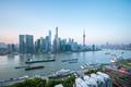 shanghai cityscape in morning - PhotoDune Item for Sale