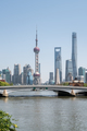 beautiful shanghai cityscape, view from suzhou river, China - PhotoDune Item for Sale