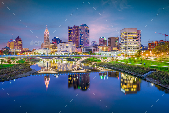 Columbus, Ohio, USA - Stock Photo - Images