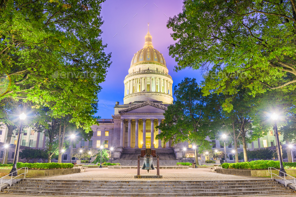 West Virginia State Capito - Stock Photo - Images