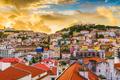 Lisbon, Portugal City Skyline - PhotoDune Item for Sale