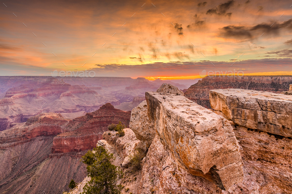 Mathers Point Grand Canyon - Stock Photo - Images