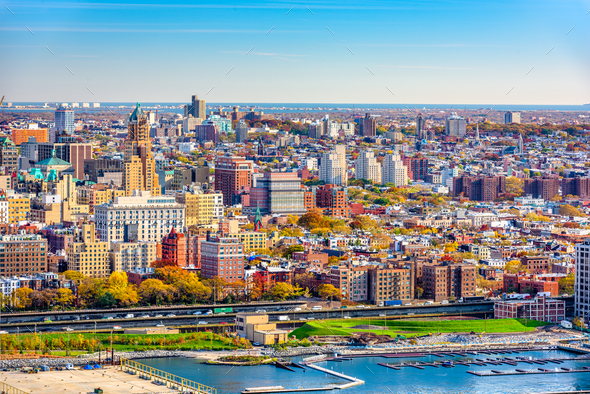 Brooklyn, New York Cityscape - Stock Photo - Images