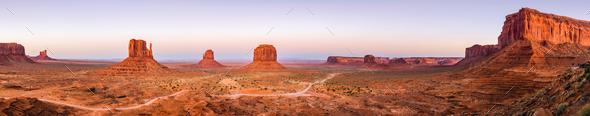 Monument Valley, Arizona, USA - Stock Photo - Images